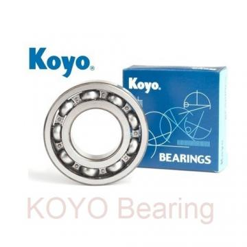 KOYO 6200 deep groove ball bearings