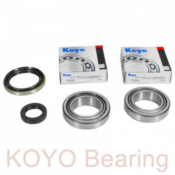 KOYO 697-2RS deep groove ball bearings