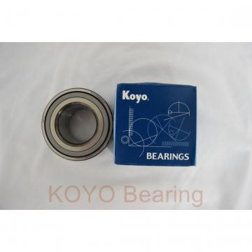 KOYO SA209F deep groove ball bearings